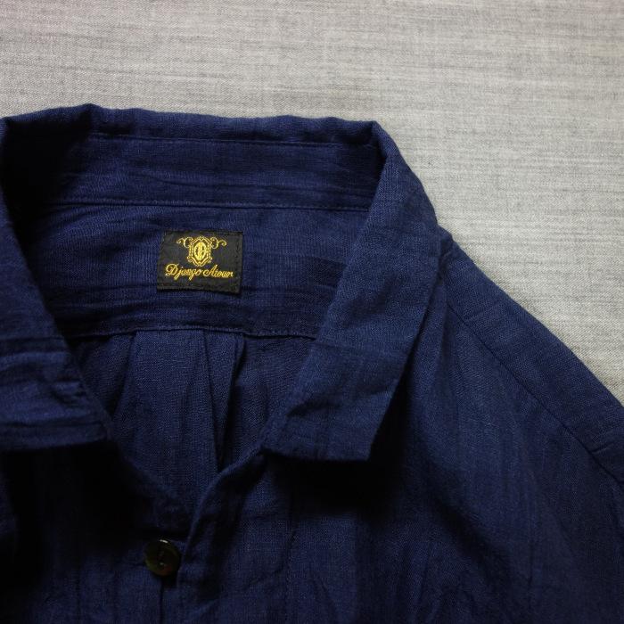 6月の製作 / DA farmers linen shirtcadigan_e0130546_16300960.jpg