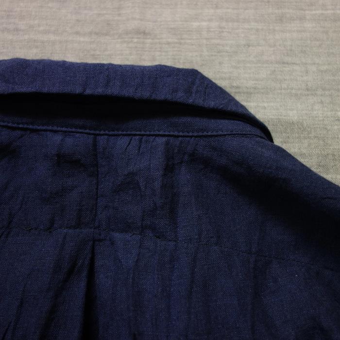 6月の製作 / DA farmers linen shirtcadigan_e0130546_16302342.jpg