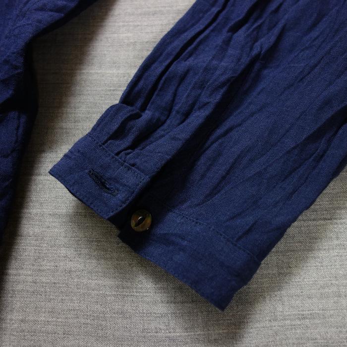 6月の製作 / DA farmers linen shirtcadigan_e0130546_16304170.jpg