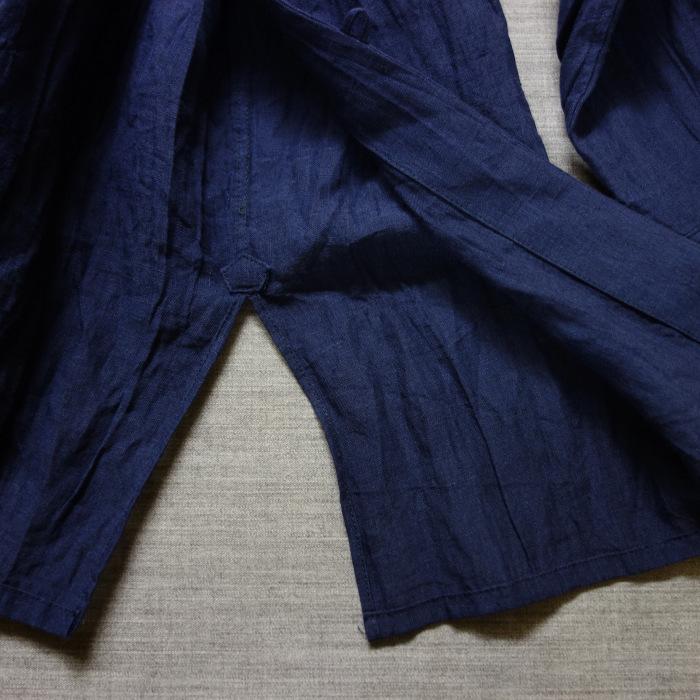 6月の製作 / DA farmers linen shirtcadigan_e0130546_16305445.jpg
