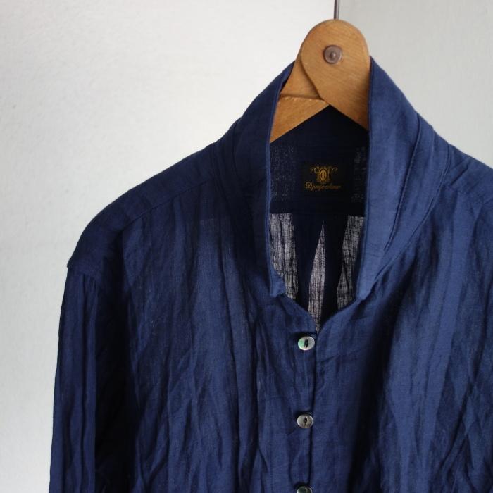 6月の製作 / DA farmers linen shirtcadigan_e0130546_16544809.jpg
