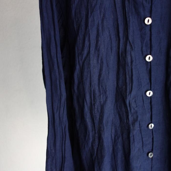 6月の製作 / DA farmers linen shirtcadigan_e0130546_16552306.jpg