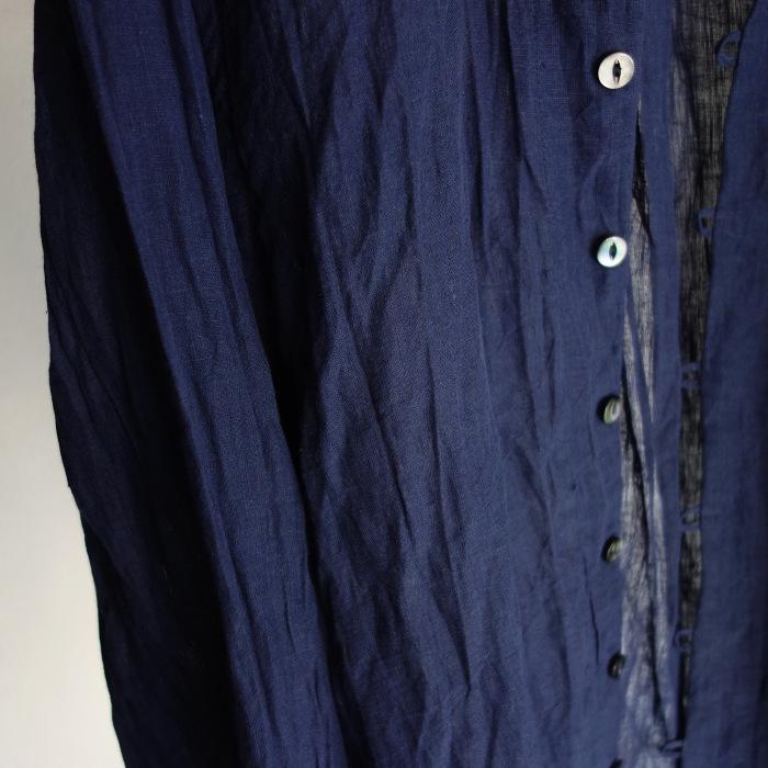 6月の製作 / DA farmers linen shirtcadigan_e0130546_16560627.jpg