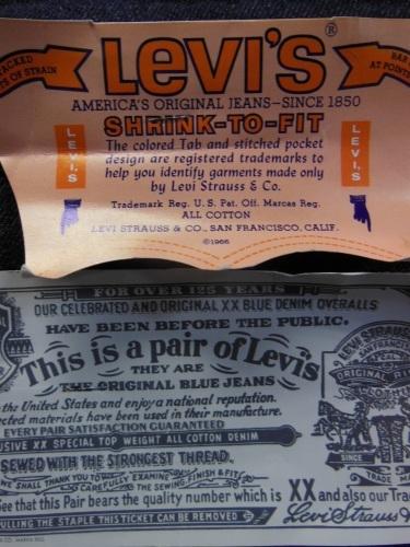 1979\'S DEADSTOCK LEVI\'S 501 66 DS 32X36/ビンテージ フラッシャー付 デッドストック 66後期_c0187684_12341824.jpg