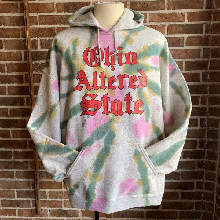 TieDye Hooded Sweatshirt _d0100143_21001030.jpg