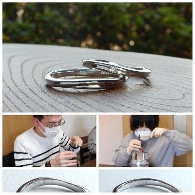結婚指輪 セミオーダー | 岡山_d0237570_13175866.jpg