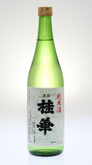 桂華 純米酒[定作酒類醸造場]_f0138598_06262984.jpg