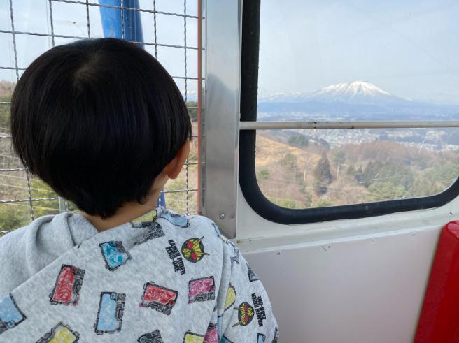 私が子どもの時以来の岩山パークランド🎡_b0199244_08374203.jpg