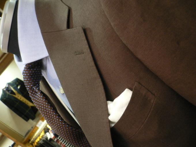 好きですアイリッシュリネン  スーツを楽しむ_d0060944_13112752.jpg