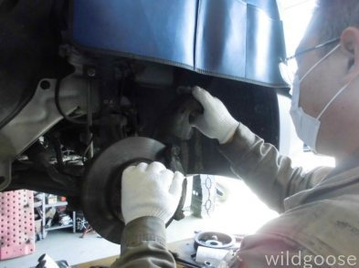 VY12 AD 車検整備中ヽ(^o^)丿_c0213517_15555374.jpg