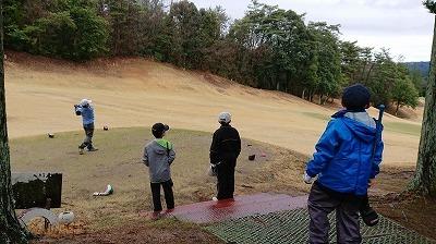 第45回 梶岡建設ジュニアゴルフ月例競技会_f0151251_13430539.jpg