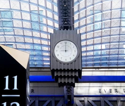 モイニハン・トレイン・ホール最大の見所、『全面的にガラス張りの天井』と『巨大な吹き抜け空間』_b0007805_06120795.jpg