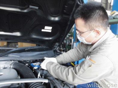 HZ33 フェアレディZ  車検整備中(#^.^#)_c0213517_16273990.jpg