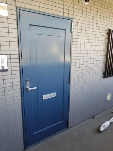 中区・FYビル 玄関ドア交換工事_d0125228_03291884.jpg