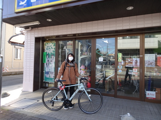 サカモトテクノ クロスバイク_e0140354_15523420.jpg