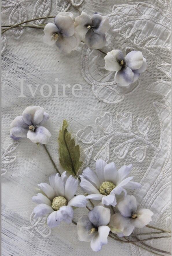 Blueの布花...♪*゚_f0372557_20410360.jpeg