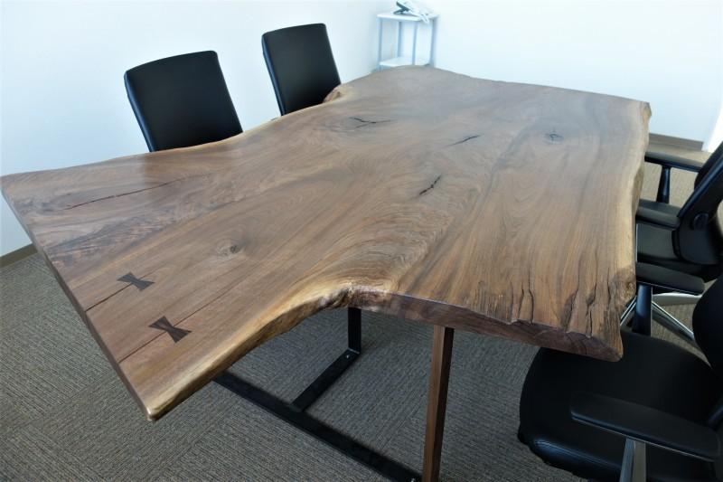 オフィス家具 木のテーブル_e0156341_07421160.jpg