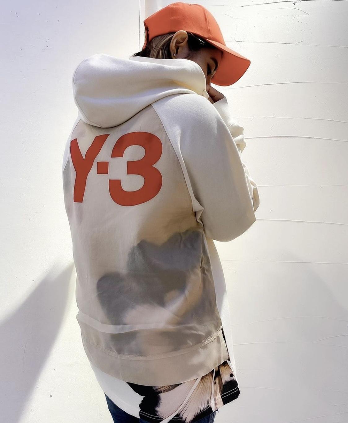「Y-3 ワイスリー」新作パーカー【M SD RWTRY GFXHOOD_LG】入荷です。_c0204280_13031610.jpg