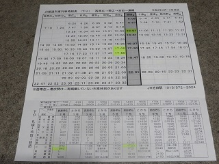 JRダイヤ改正。池田駅とワイン城への送迎について_b0405523_01115495.jpg