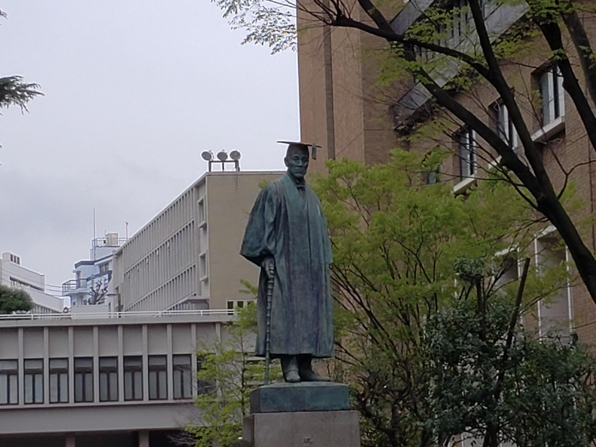 早稲田大学卒業式_c0160277_23581304.jpg