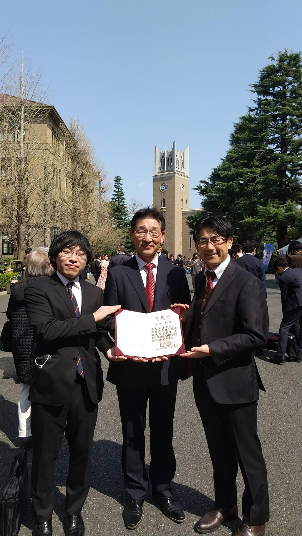 早稲田大学卒業式_c0160277_23581415.jpg