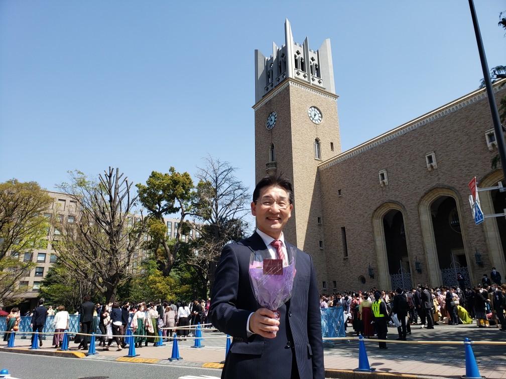 早稲田大学卒業式_c0160277_23581463.jpg