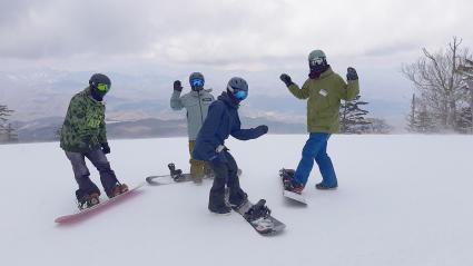 今日スキー特別レッスン開催します。_a0150315_08425340.jpg