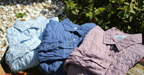 FabGarden 人気の軽量シャツが新色を伴って復活しました!_d0108933_18370425.jpg