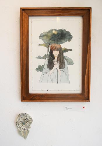 2021.3.26(金) – 3.28(日) 金子ひとみ+オザワミカ 2人展「森へ」@搬入〜初日_e0272050_17400391.jpg