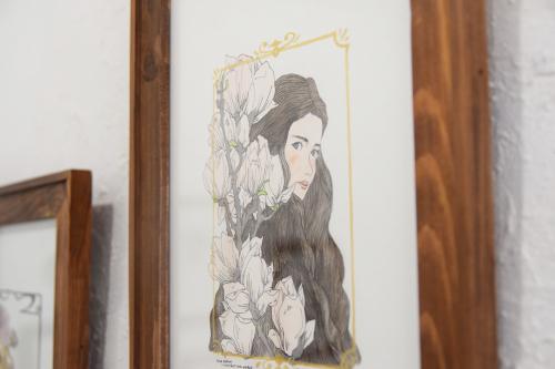 2021.3.26(金) – 3.28(日) 金子ひとみ+オザワミカ 2人展「森へ」@ 2日目_e0272050_17472712.jpg