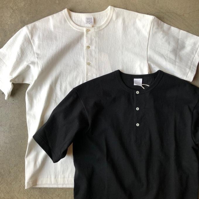 A VONTADE アボンタージ 7.5oz チューブヘンリーネック Tシャツ_d0334060_17400929.jpeg