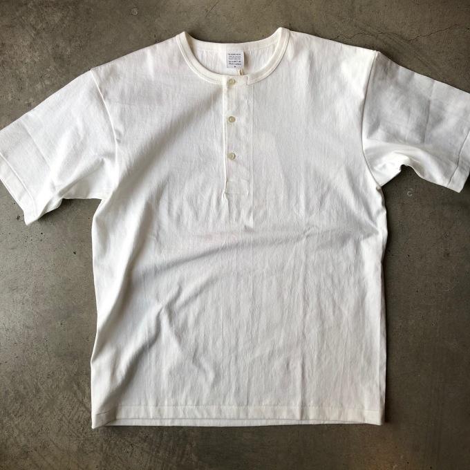 A VONTADE アボンタージ 7.5oz チューブヘンリーネック Tシャツ_d0334060_17401014.jpeg