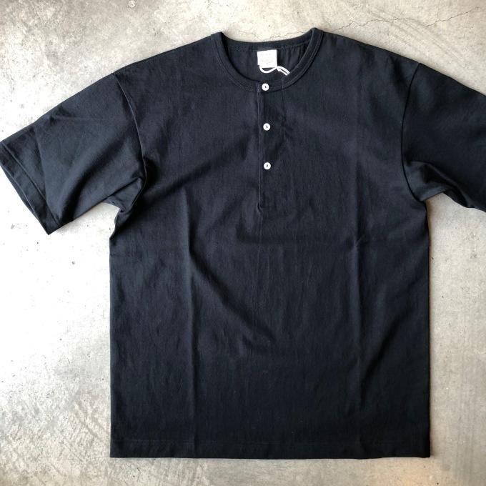 A VONTADE アボンタージ 7.5oz チューブヘンリーネック Tシャツ_d0334060_17401034.jpeg