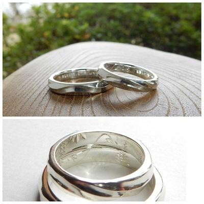 ふたりだけの結婚指輪|岡山_d0237570_14183825.jpg