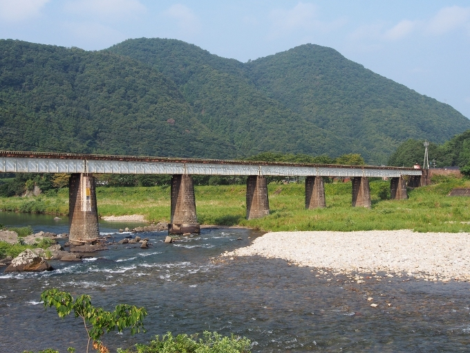 山口線吉賀川橋梁_f0116479_10313088.jpg