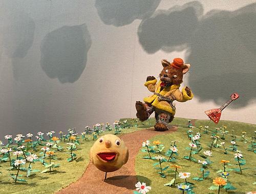 三良坂平和美術館にて『Yoko-Bon\'s World ! 絵本と猫と人形たちと』がはじまりました。_d0077603_12045863.jpg