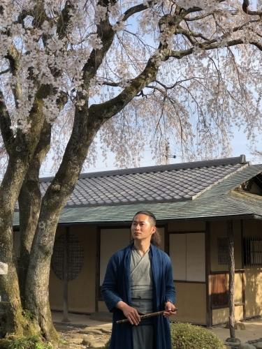 桜の樹の下で篠笛の音色_a0197730_22485288.jpeg