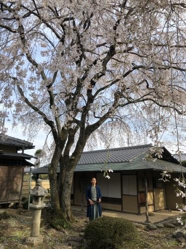 桜の樹の下で篠笛の音色_a0197730_22500257.jpeg