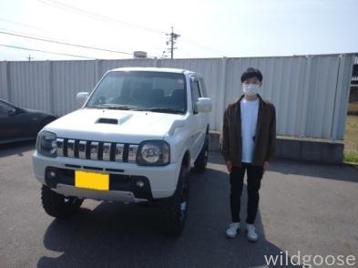祝☆納車 JB23Wジムニー お買い上げありがとうございます(▰╹◡╹▰)_c0213517_15342613.jpg