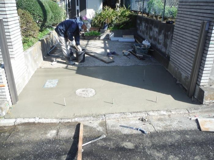 駐車場の補修工事 ~ 工事終了です。_d0165368_05574032.jpg
