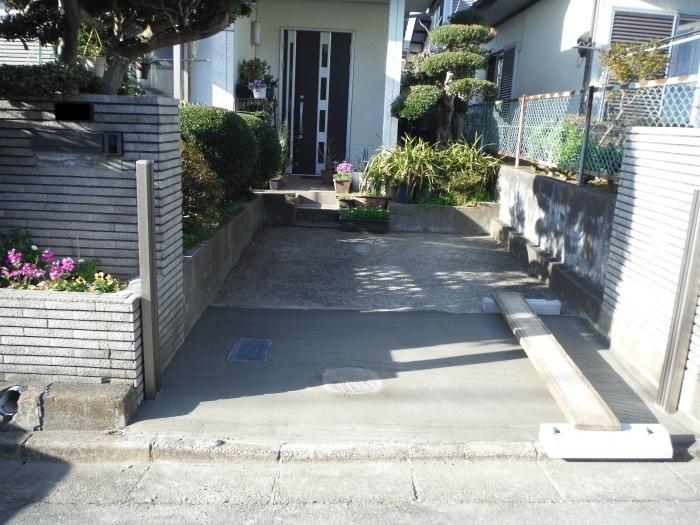 駐車場の補修工事 ~ 工事終了です。_d0165368_05582287.jpg