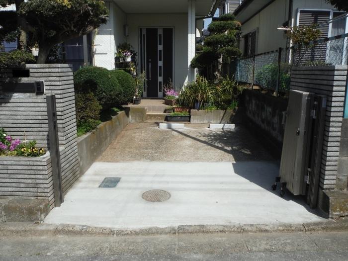 駐車場の補修工事 ~ 工事終了です。_d0165368_05590664.jpg