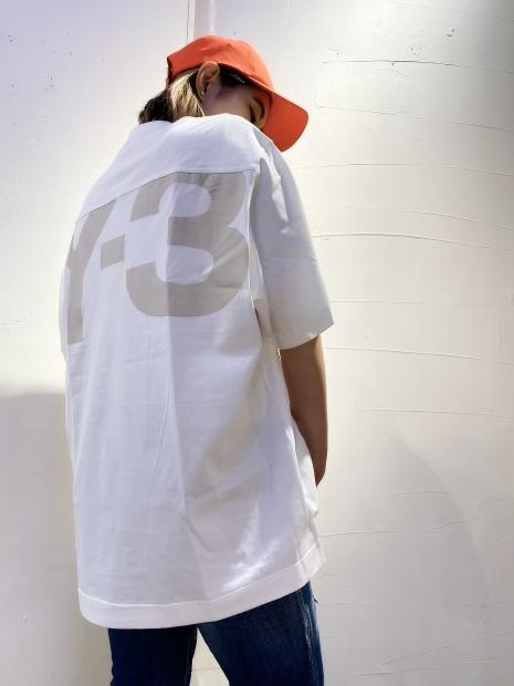 「Y-3 ワイスリー」クラシックペーパージャージTシャツ入荷です。_c0204280_16473378.jpg