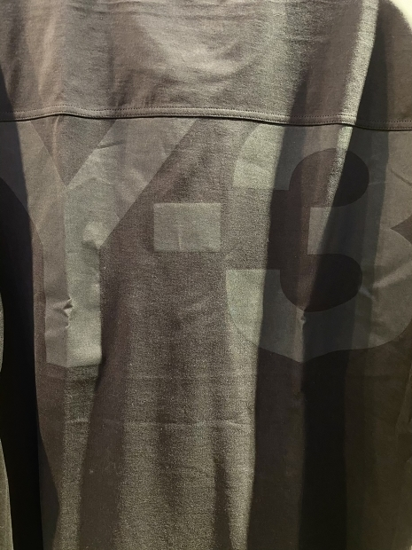 「Y-3 ワイスリー」クラシックペーパージャージTシャツ入荷です。_c0204280_16475042.jpg