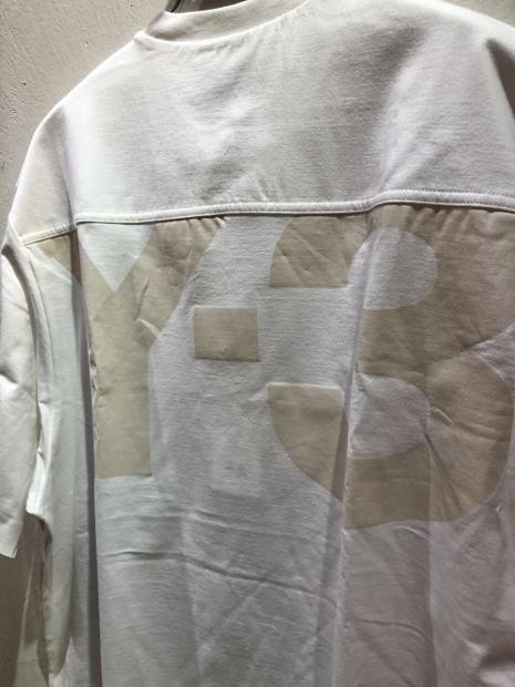 「Y-3 ワイスリー」クラシックペーパージャージTシャツ入荷です。_c0204280_16484886.jpg