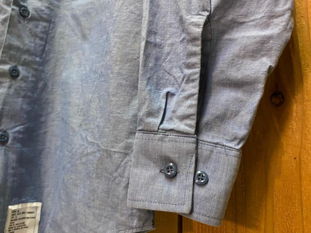 4月3日(土)マグネッツ大阪店スーペリア入荷日‼#1 Military編!!USN Servie Shoes,Chambray,OD Shirt&M-65 Field Pants!!_c0078587_13090527.jpg