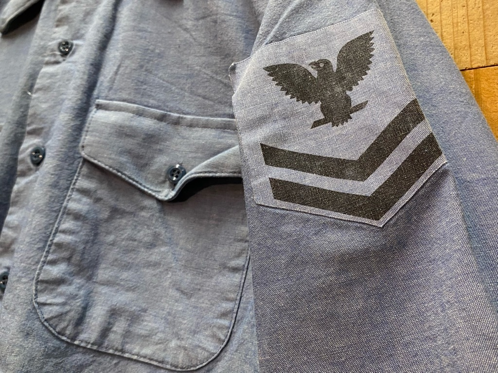 4月3日(土)マグネッツ大阪店スーペリア入荷日‼#1 Military編!!USN Servie Shoes,Chambray,OD Shirt&M-65 Field Pants!!_c0078587_13095214.jpg