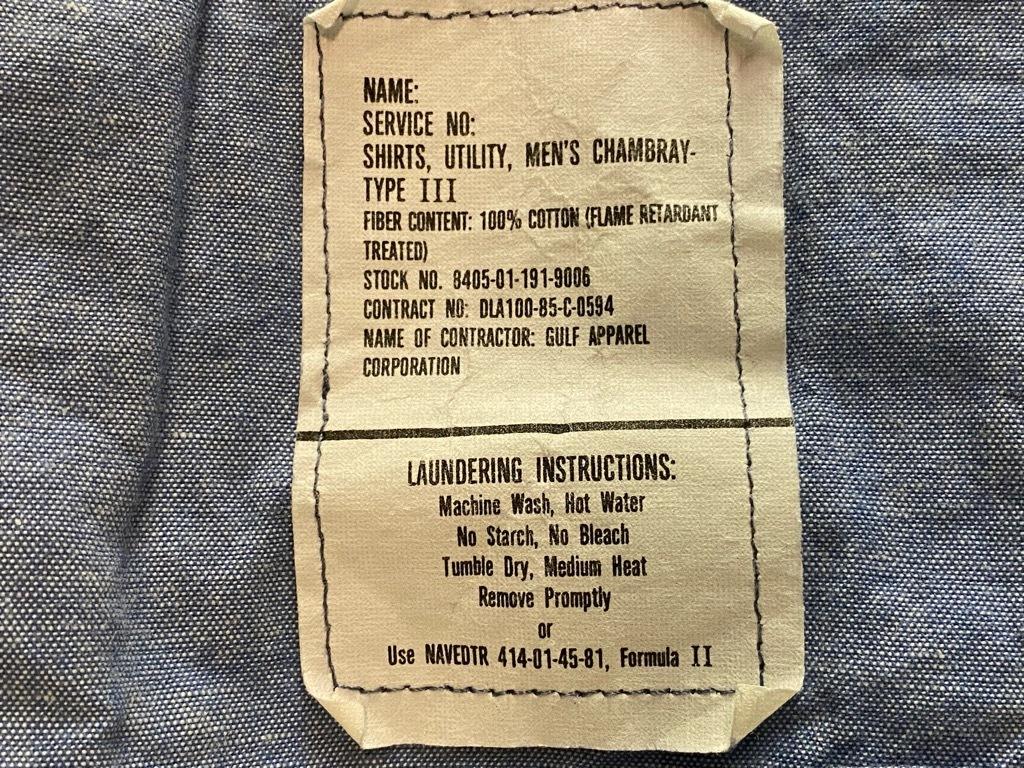 4月3日(土)マグネッツ大阪店スーペリア入荷日‼#1 Military編!!USN Servie Shoes,Chambray,OD Shirt&M-65 Field Pants!!_c0078587_13095702.jpg