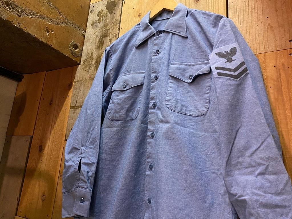 4月3日(土)マグネッツ大阪店スーペリア入荷日‼#1 Military編!!USN Servie Shoes,Chambray,OD Shirt&M-65 Field Pants!!_c0078587_13095984.jpg