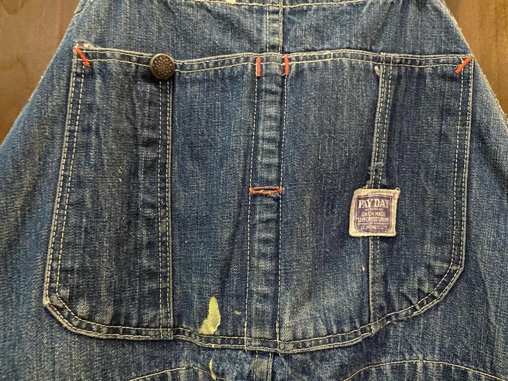 マグネッツ神戸店 3/31(水)Vintage入荷! #4 Vintage OverAll !!!_c0078587_14241481.jpg